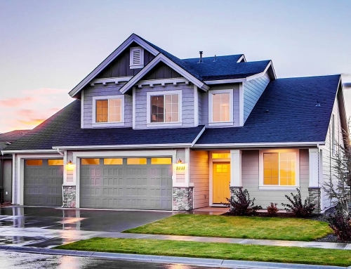 Blue Concrete House