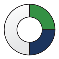 1/2-circle icon